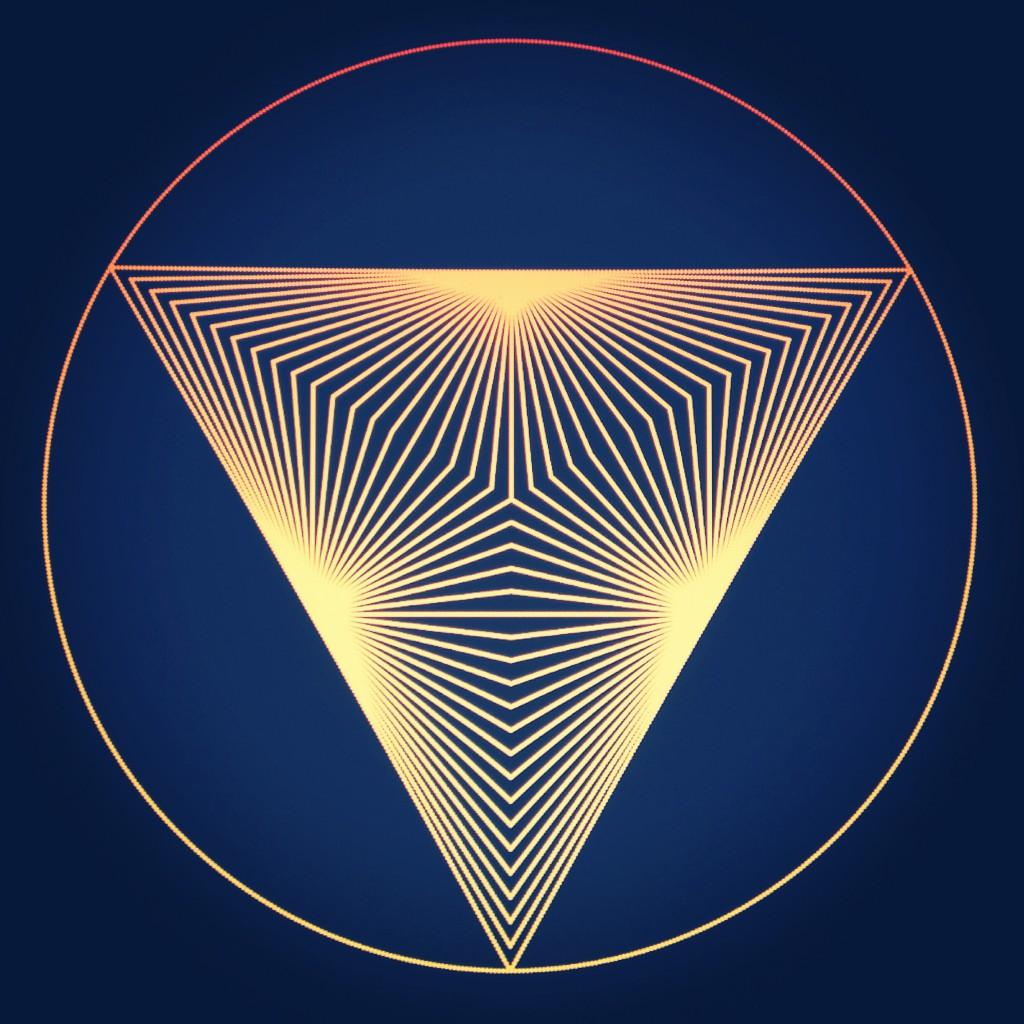 PolarGrams B - Math Art